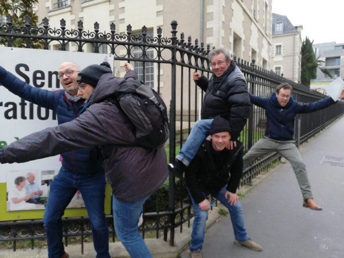 Monopoville dans Nantes by Coézi pour CETIE qui accueille son équipe du Nord de la france